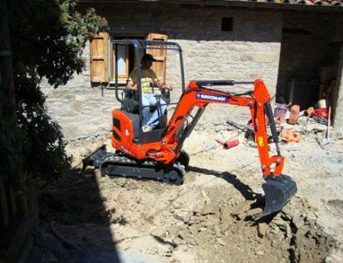 Escavatore 15 qli